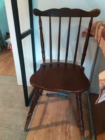 Krzesło patyczak typ 983 King Edward PRL x4