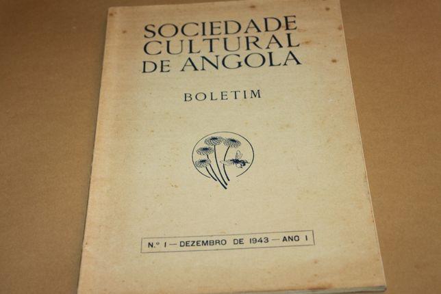 Sociedade Cultural de Angola-Boletim nº1 1943