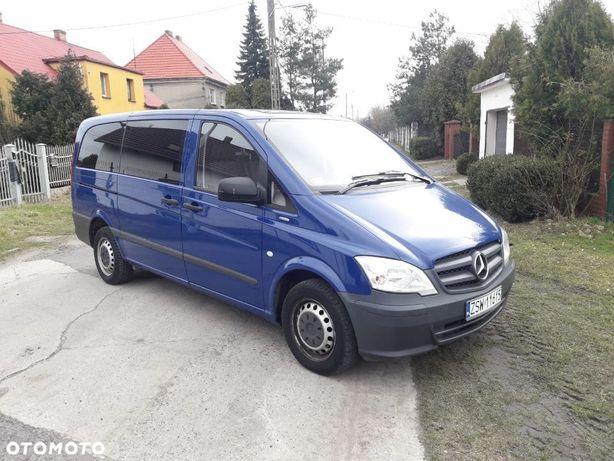 Mercedes-Benz Vito Ładny/klima/zarejestrowany/9 osobowy/2013r