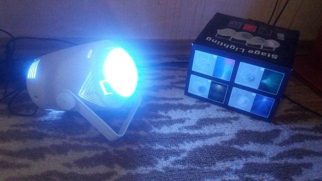Светодиодная- диско лампа