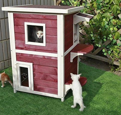 Buda dla kota domek dla kotka