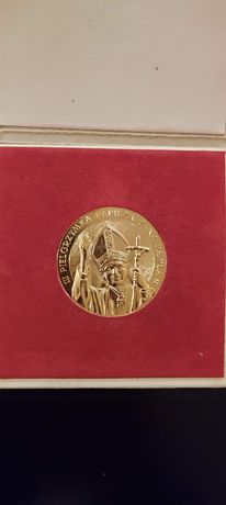 Moneta II Kongres Eucharystyczny w Polsce 1987 rok. Jan Paweł II
