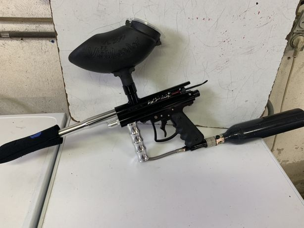 Material paint ball