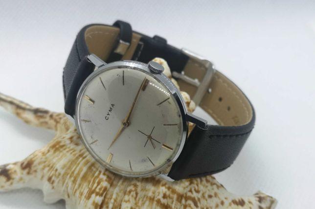 Relógio Corda  Cyma - (In-House R484.2) - 17 Rubis - 34mm - Bom Estado