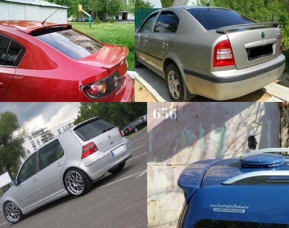 Спойлера Lancer Golf 4 Mazda 3 6 caddy lacetti prado wagon jetta lanos