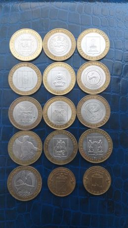 Монеты  России 10 рублей