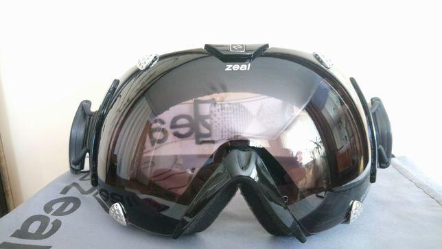 Маска очки лыжная горнолыжная ZEAL ECLIPSE POLARIZED