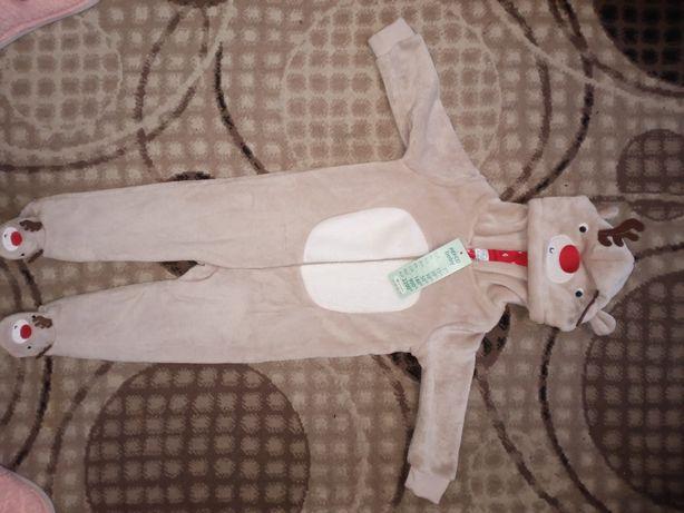 Комбинезон пижама для мальчика