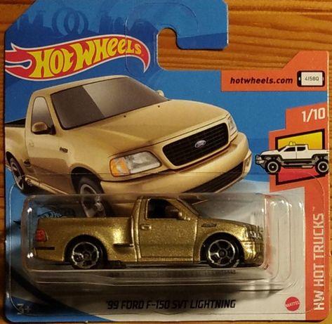 Hot Wheels Ford F-150 SVT Lightning