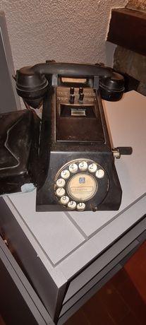 Telefone clássico antiguidade