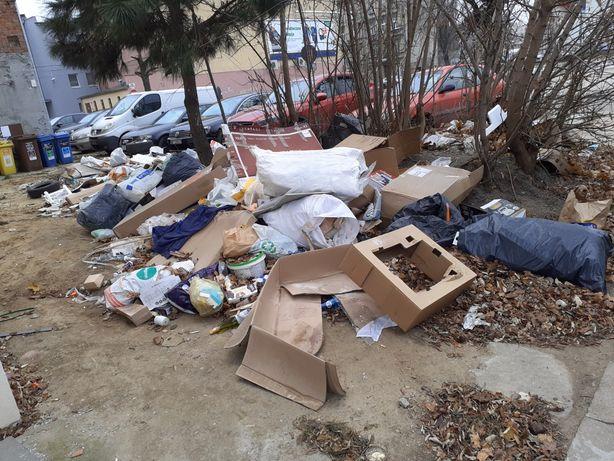 Wywóz odpadów śmieci budowlane wszystkie