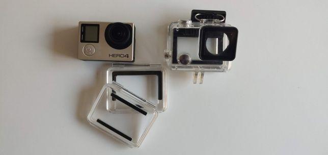GoPro 4 Silver Edition + Gimbal Feiyutech g5 + 2 Baterias Originais