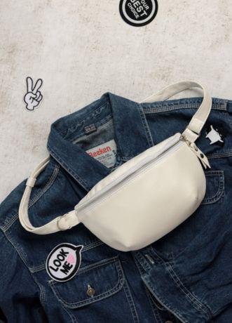Универсальная сумка на лето! Женская бананка, эко-кожа, рюкзак, слинг