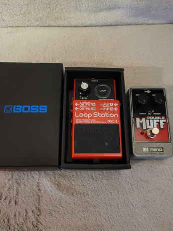 Boss 5 loop Station RC-1,  Muff Duble Made in NYC USA