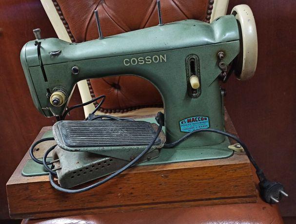 """Máquina de costura elétrica """" COSSON"""" Anos 50´s."""