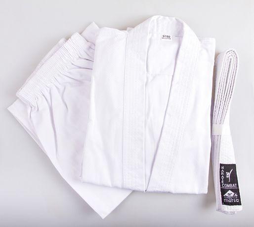 НОВОЕ кимоно для карате каратэ дзюдо айкидо джиу джитсу белое Matsa