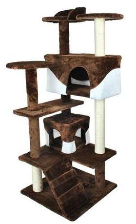 Nowy Drapak dla kota drzewko legowisko Domek 120cm Nowe inne wzory DPD