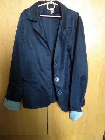 Пиджак синий школьный р.152