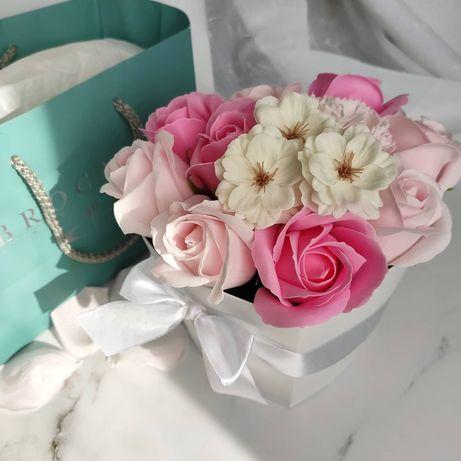 Мильні букети , мильні квіти, мильні рози, квіти з мила, мыльные розы