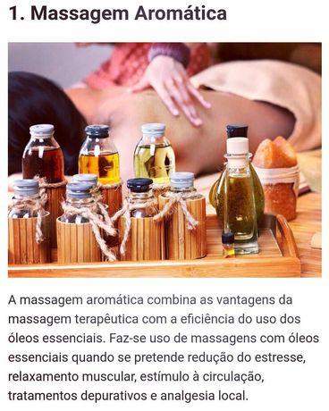 Massagem de Relaxamento,Estimulação Muscular e Revitalizante