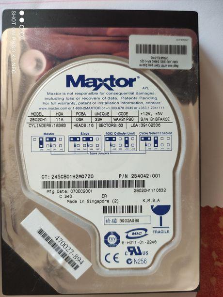 Discos rígidos HDD 60GB + 20GB - apartir de 5Euros
