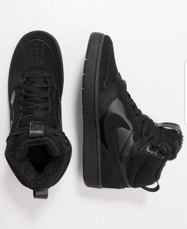 Buty Adidas sneakersy wysokie Nike czarne 39 air force