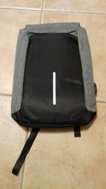 nowy plecak ANTYKRADZIEŻOWY wodoodporny z portem usb pl