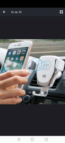 Carregador Wireless com Suporte para Carro