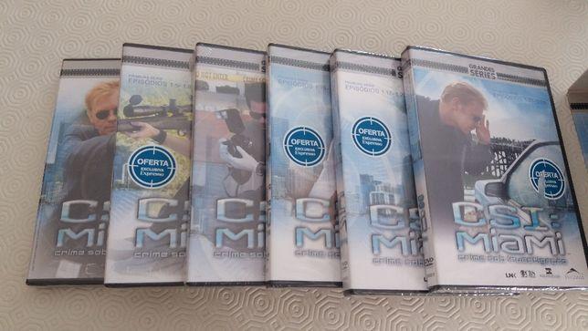 CSI - Miami Primeira Série em DVD