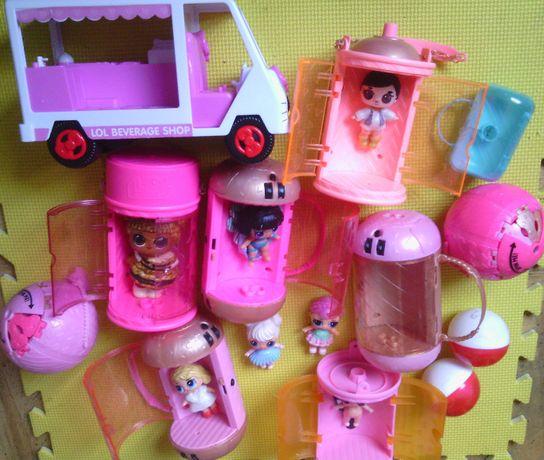 LOL легендарные куклы капсулы сумочки шары аксессуары авто цена за все