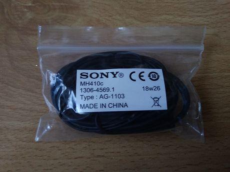 Nowe słuchawki Sony z mikrofonem