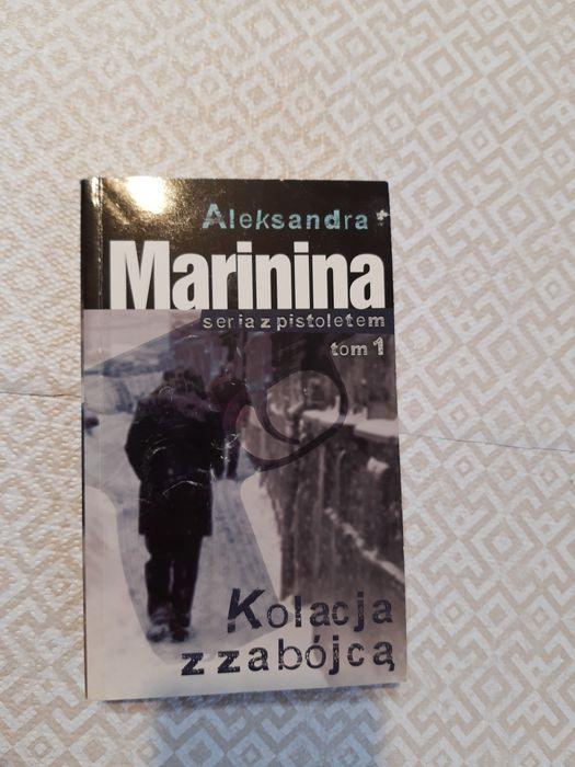 Książka Aleksandra Marinina Kolacja z zabójcą Nietulisko Duże - image 1