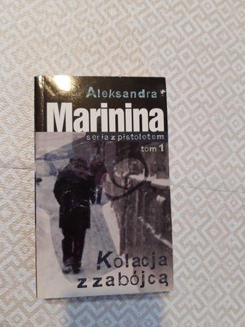 Książka Aleksandra Marinina Kolacja z zabójcą