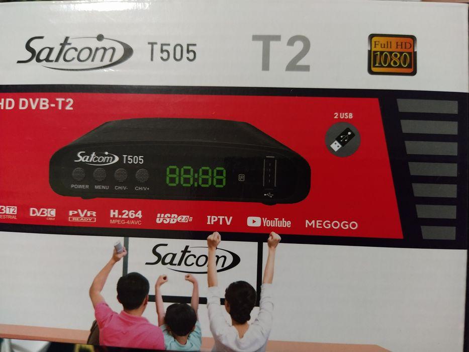 Продам т2 Satcom. Сливино - изображение 1