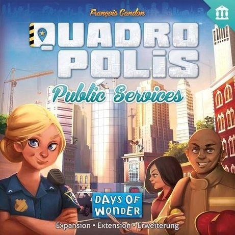 Quadropolis Gra: DODATEK Public Services BUDYNKI Nowa Zafoliowana