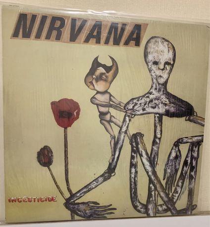 "Пластинка Nirvana ""Incesticide"""