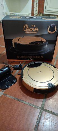 Aspirador robot (dourado)