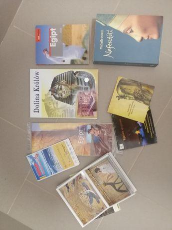 Egipt, przewodnik Pascal, mapa, płyta CD, Nefertiti M. Moran