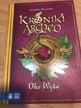 Kroniki Archeo Oko Węża Agnieszka Stelmaszyk książka