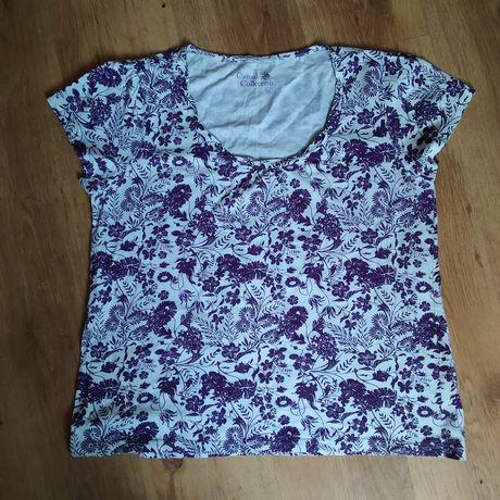Koszulka t-shirt w kwiaty