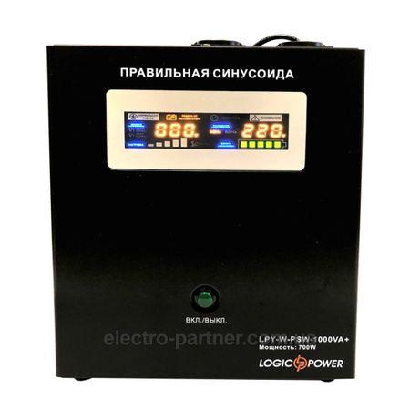 Бесперебойник инвертор 700 Вт 12В Logicpower LPY-W-PSW-1000va