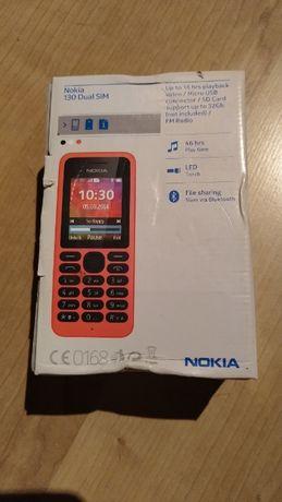 NOWA Nokia 130 Dual Sim, oryginalnie zapakowana, nieużywana