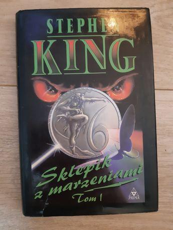 Książka Stephen King Sklepik z marzeniami