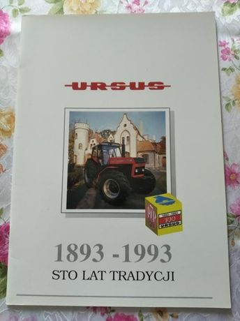 Ursus sto lat tradycji folder prospekt album historia PROMOCJA