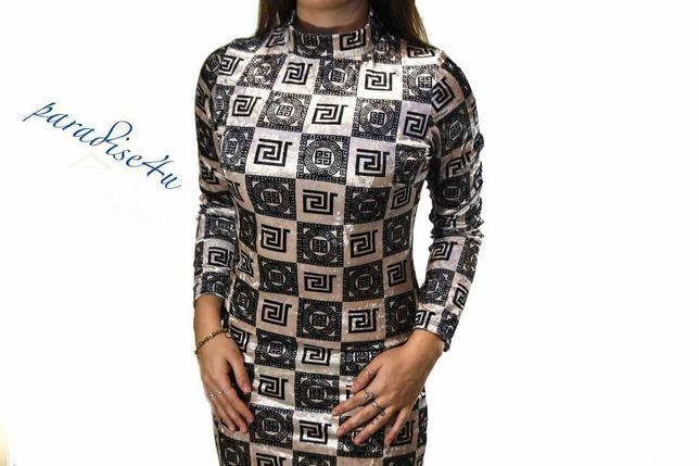 Welurowa sukienka UNIWERSALNA