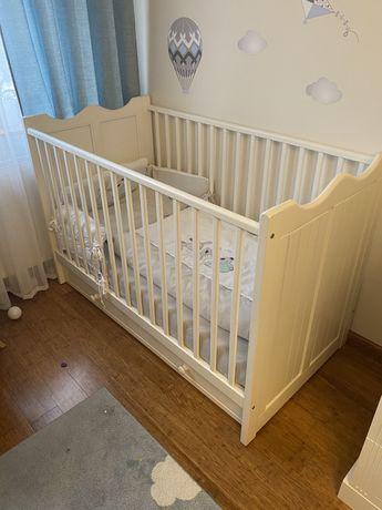 Sprzedam łóżeczko 140x70 z materacem