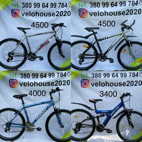 Фірмові  велосипеди на 26 колесах, з Європи, Велосипеды горный, б у