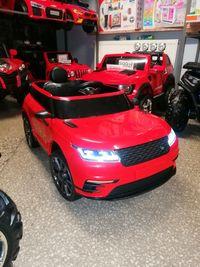 Samochody na akumulator suv Land czerwony mp3, usb, koła eva sklep