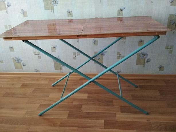 Стол самодельный, раскладной, для дачи, пикника