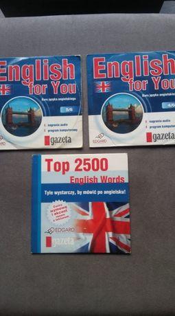 Język angielski na płytach CD